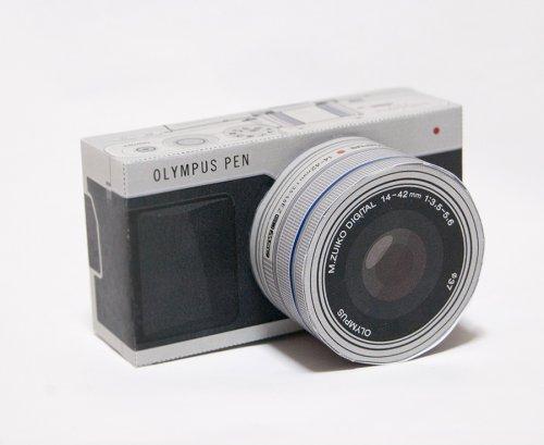 【お仕事紹介】 カメラのペーパークラフトを制作しました