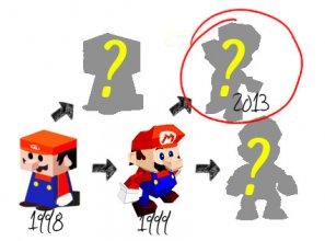 マリオのペーパークラフト変遷(mario_papercraft_history)