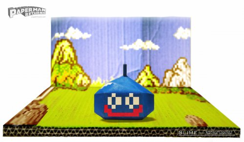 Dragon Quest Slime Paper Models